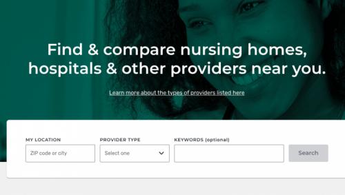 Medicare provider search