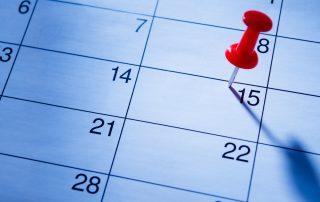 October 15th Calendar