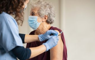 Vaccine given to medicare